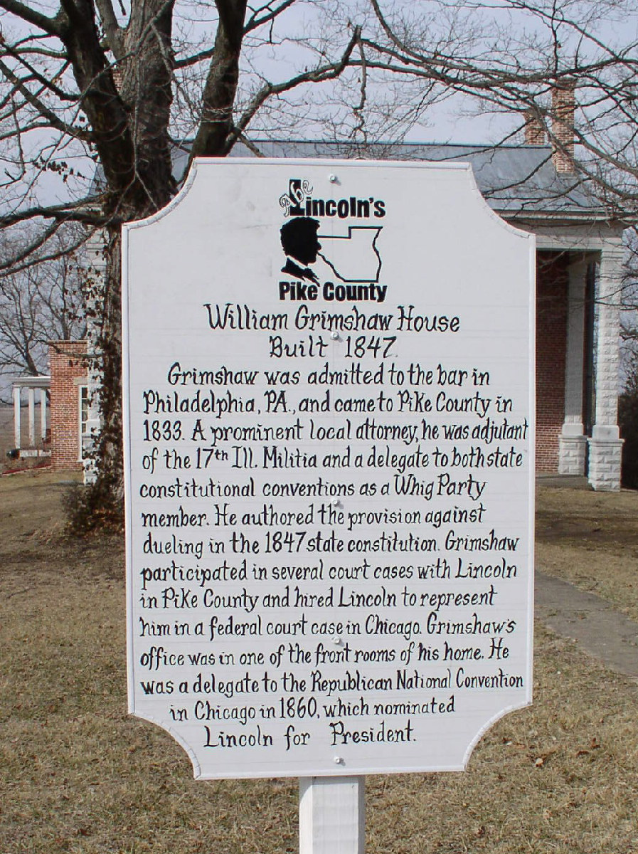 Illinois pike county griggsville - William S 1876 Centennial Address For Pike County Illinois