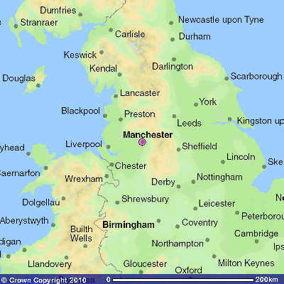 Map Of England With Cities And Towns.Manchester The First Industrial City Grimshaw Origins And History