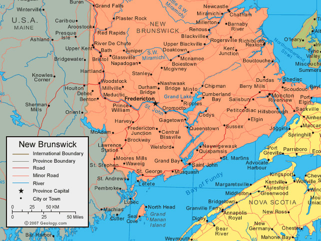 Samuel Grimshaw Immigrant to English Settlement New Brunswick and