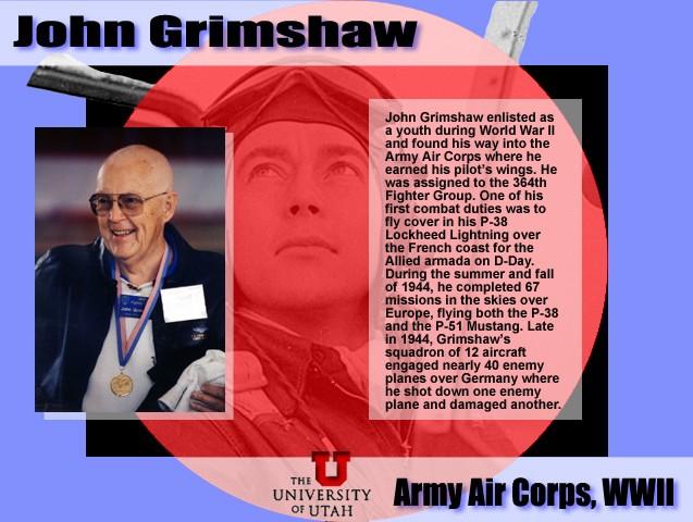 John L  Grimshaw, World War II Fighter Pilot – Grimshaw Origins and